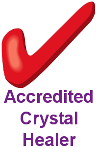 accredited crystal healer