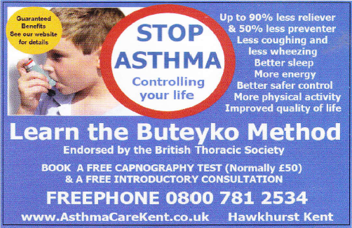 asthma care kent