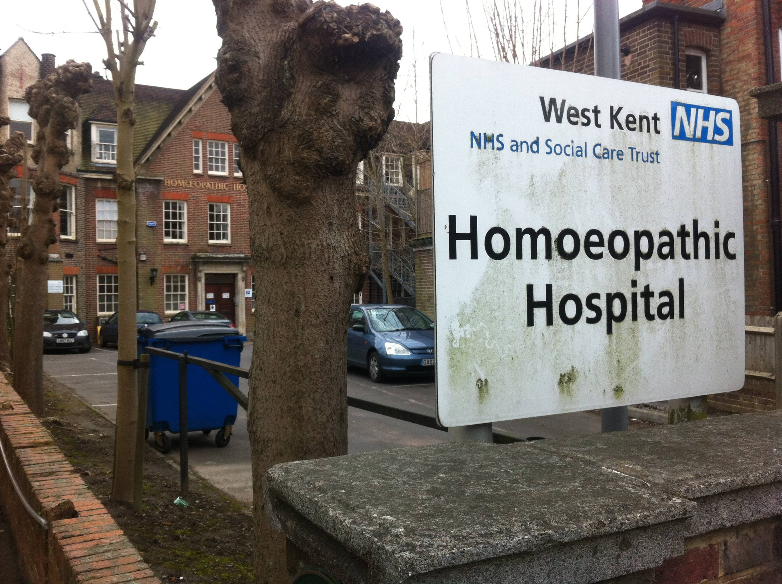 The defunct Tunbridge Wells Homeopathic Hospital