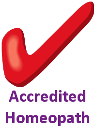 accredited homeopath